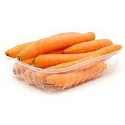 Carottes, barquette 1kg, origine Belgique