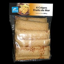 6 CREPES FRUITS DE MER