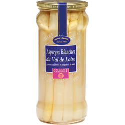 Asperges blanches grosses GILLET CONTRES, 320g