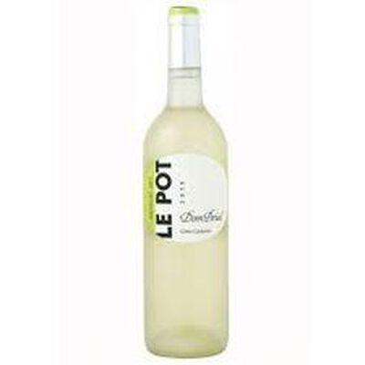 Vin Blanc LE POT - DOMAINE DOM BRIAL, bouteille de 75cl