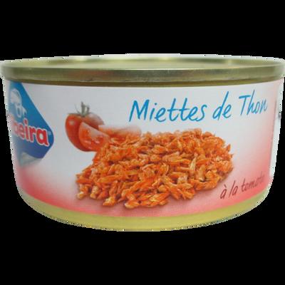 Miettes de thon à la tomate ribeira, boîte 1/5, soit 160g