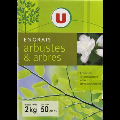Engrais arbres et arbustes U, 2kg