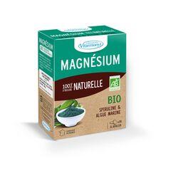Magnésium 100 % d'origine naturelle bio