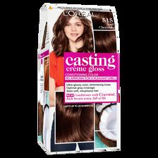 L'Oréal Coloration Ton Sur Ton Casting Crème Gloss, Chocolat Glacé N°515