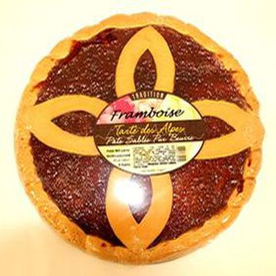 Tarte framboise tradition