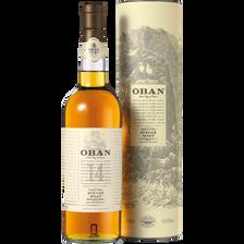 Scotch whisky single malt OBAN, 14 ans d'âge, 43°, 70cl