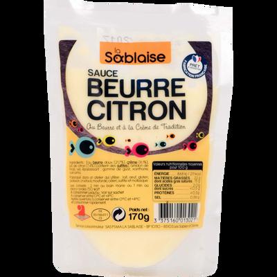 Sauce poisson beurre citron LA SABLAISE, 170g