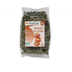Graines de courge BIO, MARKAL, le paquet de 250g