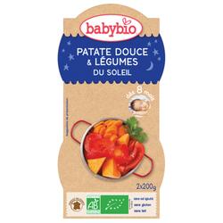 Bol Bonne nuit Patate douce légumes du soleil BABYBIO dès 8 mois 2x200g