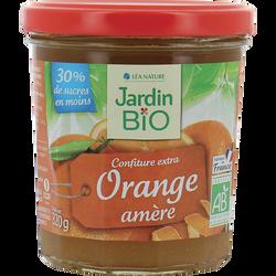 Confitures d'orange amère bio JARDIN BIO, bocal 320g
