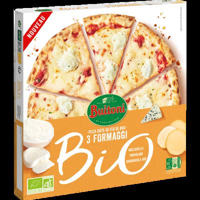 Pizza formaggi bio BUITONI, x7