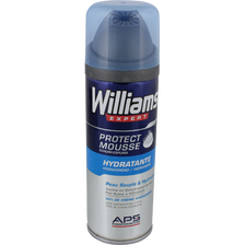 Mousse à raser hydratante WILLIAMS, 200ml