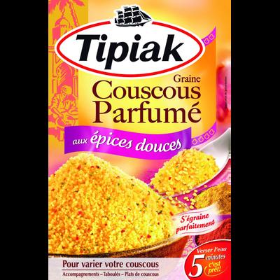 Graine de couscous aux épices douces TIPIAK, 2x250g