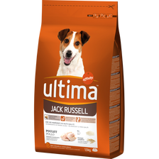 Croquettes pour chiens Jack Russell ULTIMA, 1,5kg
