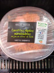CAROTTES RAPEES MARAICHERES 40