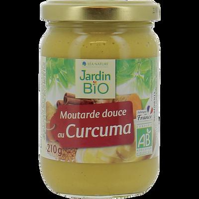 Sauce moutarde douce aux épices bio JARDIN BIO 210g