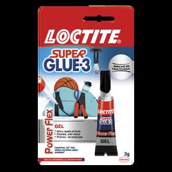 Colle en gel Super Glue 3 PowerGel LOCTITE, tube de 3g