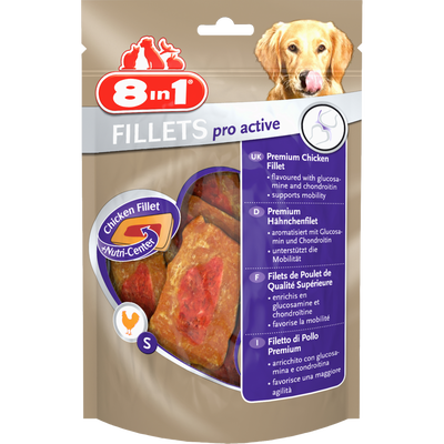 Filets actives, 8 IN 1, 80G
