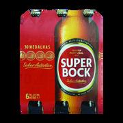 Super Bock Bière Blonde Super Bock 5,2° Pack 6x33cl