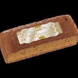 """Pain d'épices pur miel """"Spécial Foie Gras"""" FORTWENGER, 300g"""