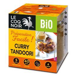 Préparation facile Curry Tandoori Bio LE COQ NOIR 80g