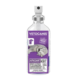 VC spray phéromones calming VETOCANIS, 60ml