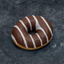 Mini donut chocolat, décongelé, 9 pièces, 180g