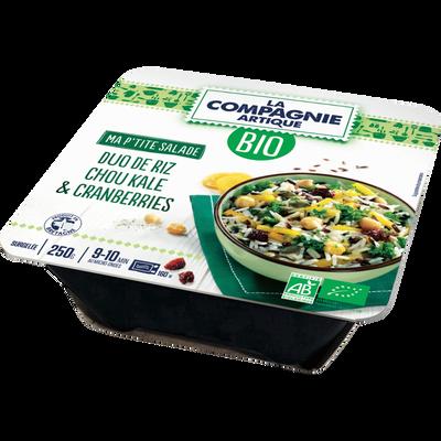 Duo salade de riz kale bio COMPAGNIE ARTIQUE, 250g