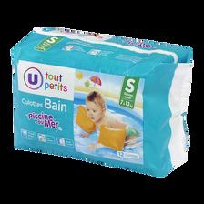 Culotte de bain U TOUT PETITS, 7 à 13kg, paquet de 12