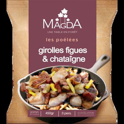 Douceurs de girolles figues et chataignes MAGDA, 450g