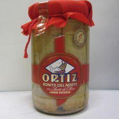 Thon blanc Germon à l'huile d'olive ORTIZ, 1,6kg