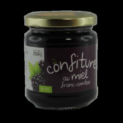 Confiture mûre miel de Franche-Comté, 250g