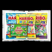 Haribo Miami Pik X1+croco Pik X1+schtroumpfs Pik X1 Haribo 750g