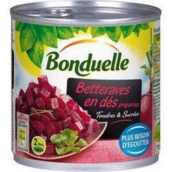 Betterave rouge , BONDUELLE 4/4 530g