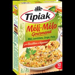 Méli Mélo Gourmand TIPIAK, 2 sachets de 165g