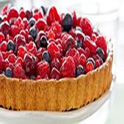 Tarte aux fruits rouges, 4 parts, 665g
