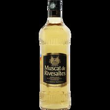Muscat de Rivesaltes U, 15,5°, bouteille de 75cl