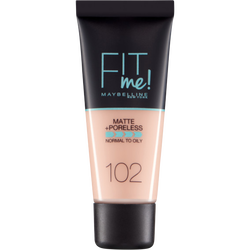 Fond de teint Fit me matte&poreless 102 nu MAYBELLINE