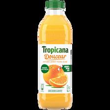 Pur jus d'orange douceur avec pulpe Pure Prémium TROPICANA, 1l