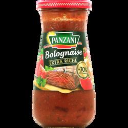 Sauce bolognaise extra riche PANZANI, pot 400g