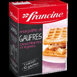 Préparation pour pâte à gaufres FRANCINE, 350g