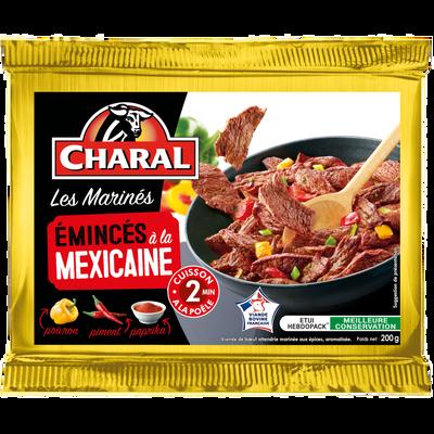 Emincé de boeuf mexicaine, CHARAL, France, étui, 200g