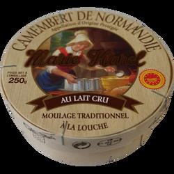 Camembert AOP lait cru 22% de MG, 3/4 affiné MARIE HAREL, 275g
