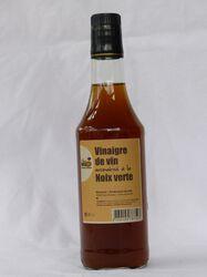 Vinaigre aromatisé noix verte NICONOIX, bouteille de 50cl