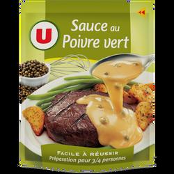 Sauce déshydratée Poivre Vert U, sachet de 30g