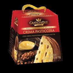 Panettone pur beurre crème et raisins GRANDUCALE, 750g