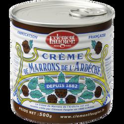 Crème de marrons CLEMENT FAUGIER, 500g