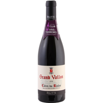 CLUB DES VINS & TERROIRS AOP rouge Grand Vallon 2017, 75cl