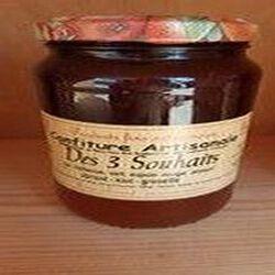 Confiture des 3 souhaits (Abricot, Kiwi, Groseille), Recette du Jura, 430g