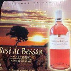 BIB ROSE DE BESSAN 3L